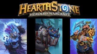 Hearthstone Mastering Oak Heart (Badly)