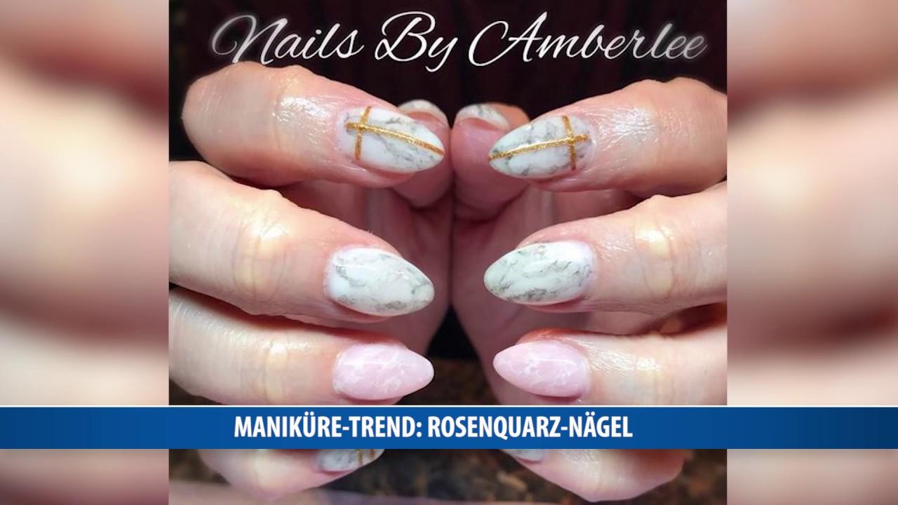 Faszinierend Gelnägel Sommer 2017 Ideen Von Maniküre-trend: Rosenquarz-nägel