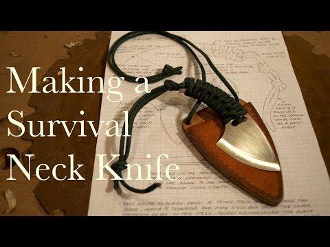Making a Survival Neck Knife