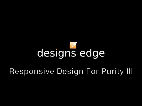 Improve Responsive Design Purity III Template For Joomla 3
