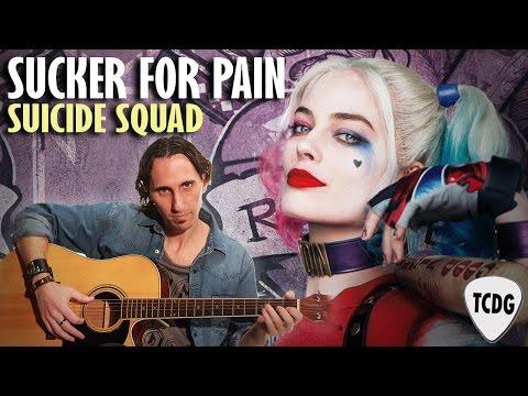 Como Tocar Sucker For Pain De La Película Escuadrón Suicida En Guitarra Acústica TCDG