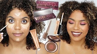 What's New at Sephora Haul + Try On! Urban Decay Cherry, Fenty Unveil, MAC Studio Fix Concealer