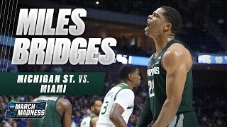 March Madness Highlights: Miles Bridges scores 18 for MSU