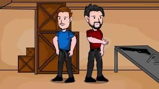 Izak&Rojo CS GO Animated [ES] Ep.1 - Típico De La Co-Op