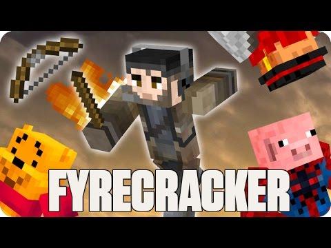 ¡ME MUERO DE LA RISA! FYRECRACKER | Minecraft Con Sara, Luh Y Macundra
