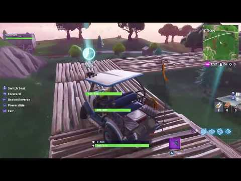 Fortnite Battle Royale - Timed Trial Locations