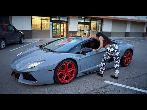 LAMBORGHINI GOLD DIGGER PRANK PART 1 | **MUST WATCH**