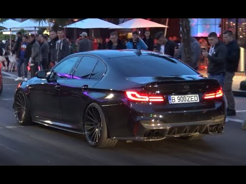 BMW M5 F90 With FI EXHAUST Crazy Sounds - Revs And Accelerations