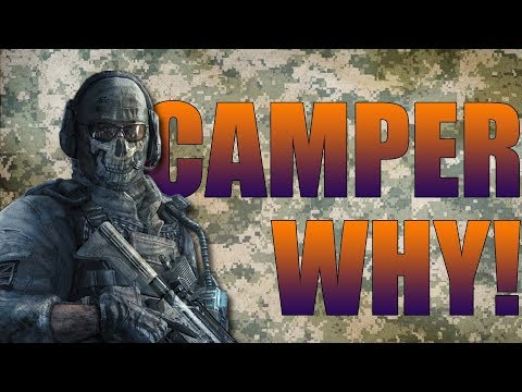 Why You Camping! Call Of Duty Ghosts Funny Moments