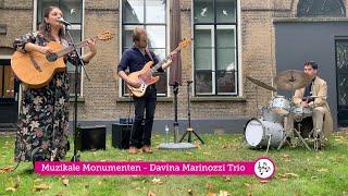 Davina Marinozzi Trio @ Open Monumenten Dagen Dordrecht 2021 - E La Chiamano Estate (Bruno Martino)