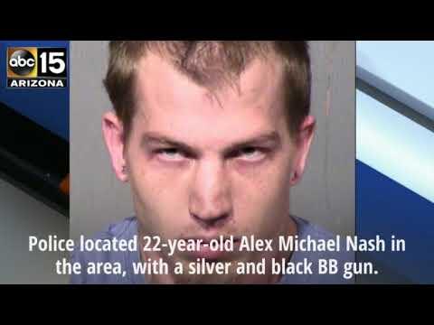 PD: Man points gun at vehicles on Mesa freeway - ABC15 Crime