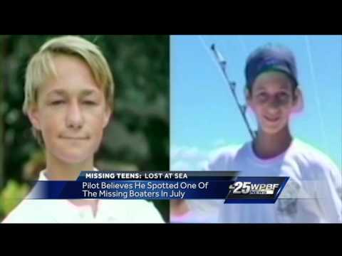 Pilot spotted a makeshift raft days after Tequesta teens were reported missing