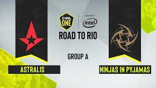 CS:GO - Ninjas in Pyjamas vs. Astralis [Inferno] Map 3 - ESL One: Road to Rio - Group A - EU