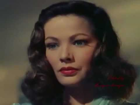 Gene Tierney, the ethereal movie star
