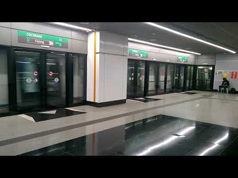 """[MRT SBK] Siemens Inspiro """"The Guiding Light"""" set 14 departing Cochrane"""