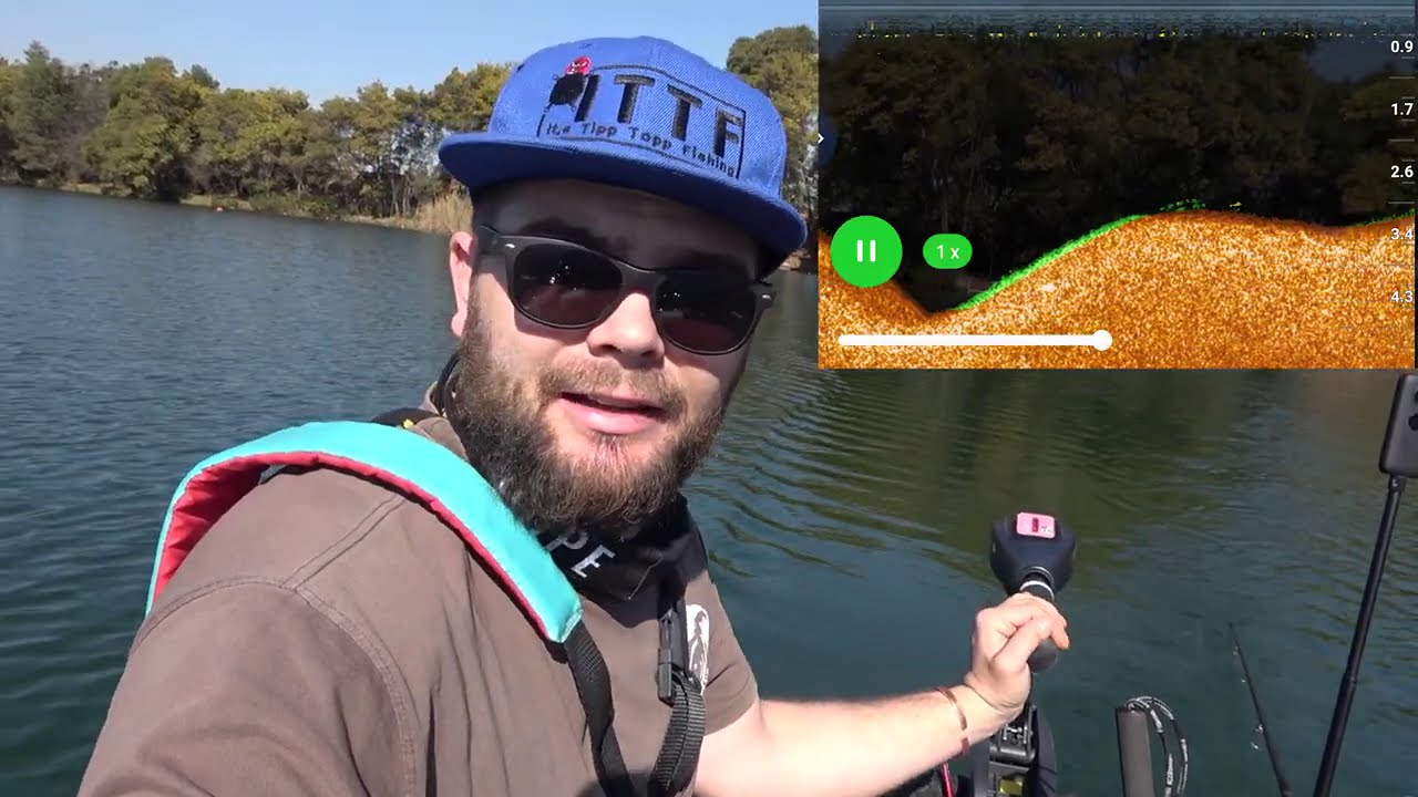 Learning Curve Carp Fishing at Aqua-Paradiso with the Deeper Chirp + and Spydro