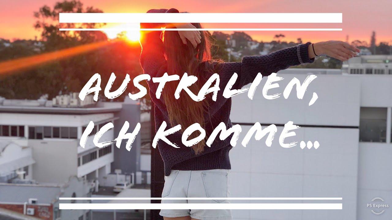 Ich gehe nach Australien...