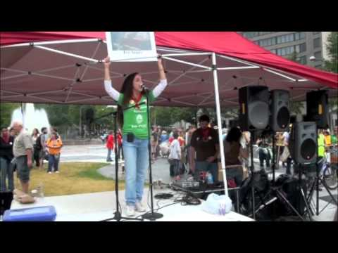 """Maria Gunnoe - """"Mountaintop Removal is Going to Be Ended"""""""