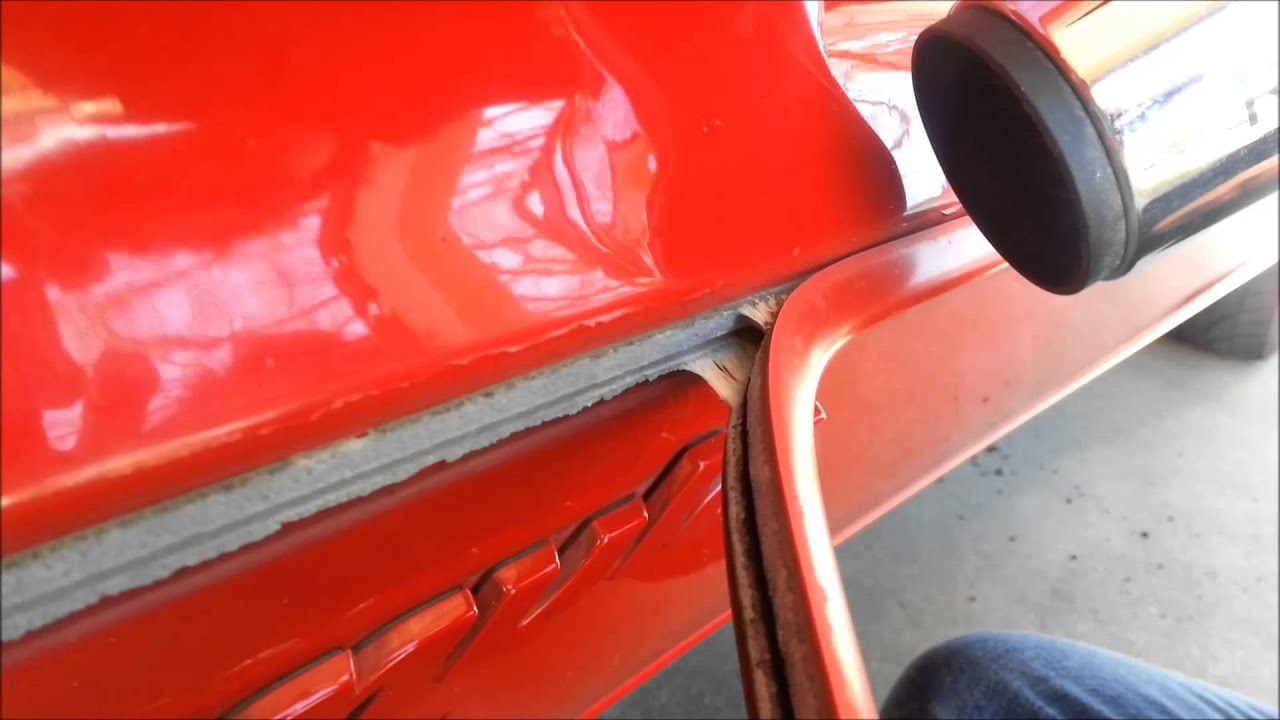 How to remove molding from a truck - How To Remove Molding From A Truck 7