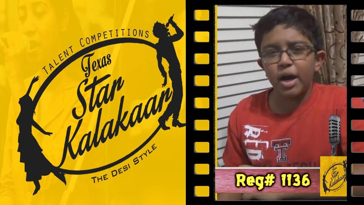 Texas Star Kalakaar 2016 - Registration No #1136