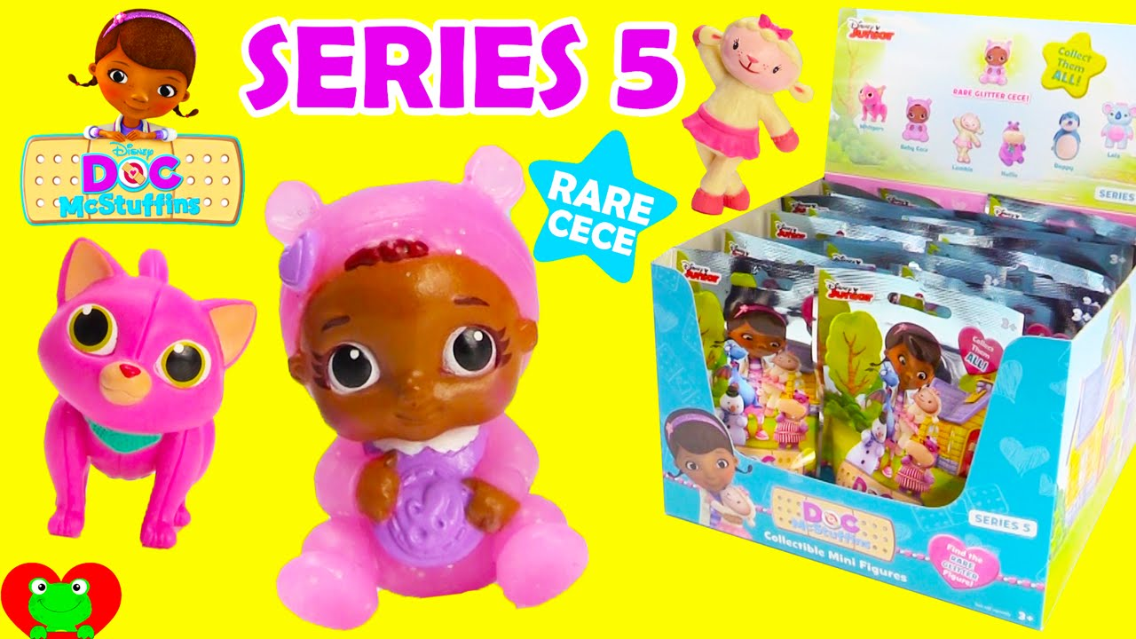 Doc Mcstuffins Blind Bags Series 5 With Rare Cece Youtube