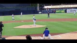 LA 다저스 선발투수 워커 뷸러 선수 워밍업 영상