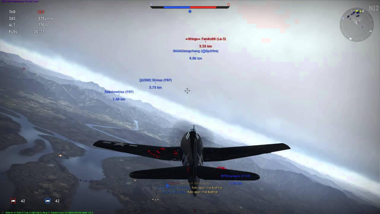 F4U Corsair Vs. F6F Hellcat-Which was better? - YouTube