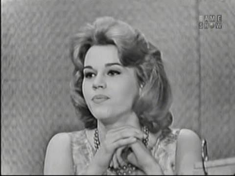 What's My Line? - Jane Fonda; Martin Gabel [panel]; Polly Bergen [panel] (Apr 3, 1960)