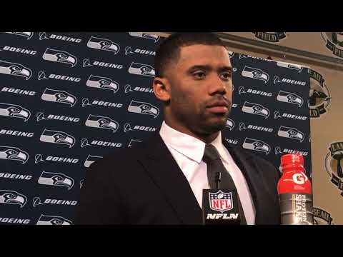 Russell Wilson on lone positive for Seahawks