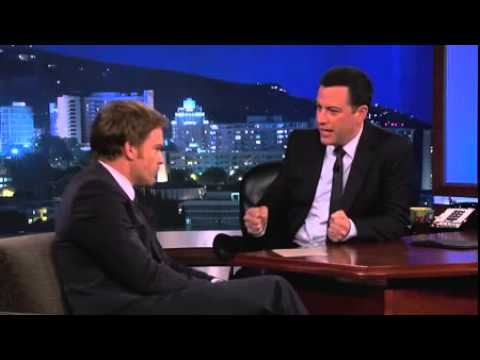 Michael C  Hall (Jimmy Kimmel Live - parte 2)