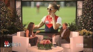 Portman talks Melbourne on Ellen thumbnail