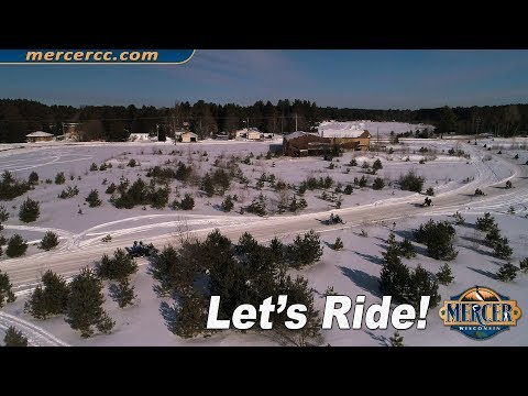 Mercer, WI Snowmobiling  - You Should Be Here!