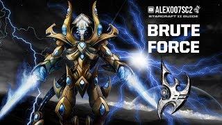 BRUTE FORCE PROTOSS - Победа грубой силой в StarCraft II