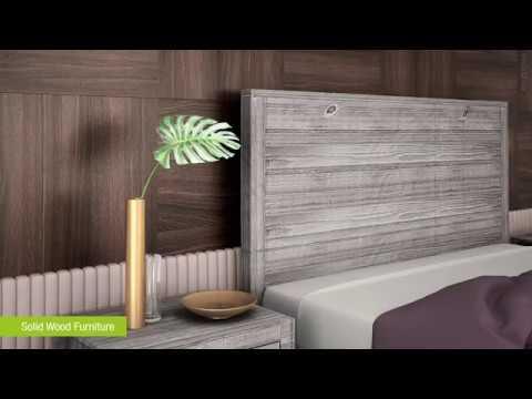 Montauk Full Size Solid Wood Bed. Phorma Design