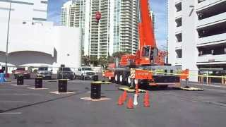 Video still for CIC Crane Rodeo at CONEXPO-CON/AGG 2014