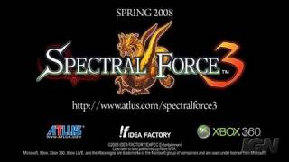 Spectral Force 3 Xbox 360 Trailer - Trailer
