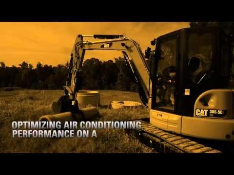 Optimizing Air Conditioning Performance On A Cat® E2 Mini Excavator