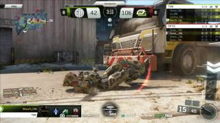 OpTic Gaming vs Team SoloMid at the Call of Duty MLG Anaheim Open Day 1