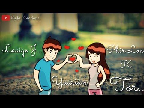 Whatsapp Status Video  Yaarian Amrinder Gill By Raja Creationz