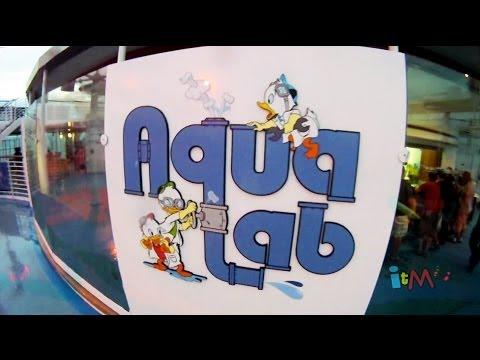 AquaLab, Twist n Spout water slide POV, and Nephews Splash Zone on the Disney Magic