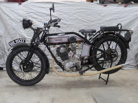 1927 Norton 18 Motorcycle Replica Build