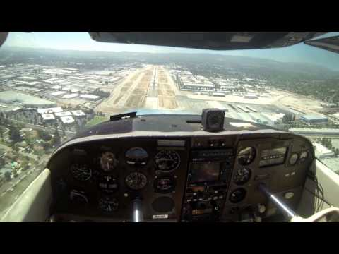 Circle to Land, Steep Approach Landing at Van Nuys (KVNY)