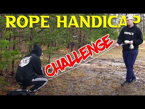 Disc Golf Rope Handicap Challenge