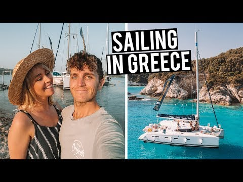 Our Luxury Yacht Tour | Sailing Greece with Medsailors