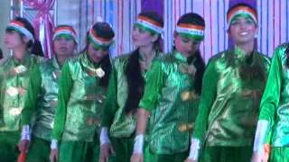 "Video on ""Patriotic Jive"" (Dance Performance) by students of  SRN International School (CBSE)"