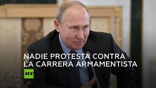 Putin: Después de 2021 no habrá nada que limite la carrera armamentista