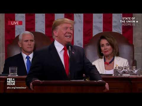 WATCH: Trump says border 'walls work, and walls save lives' Mp3