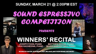 Sound Espressivo Competition presents the 1st Prize Winners of 2020 edition