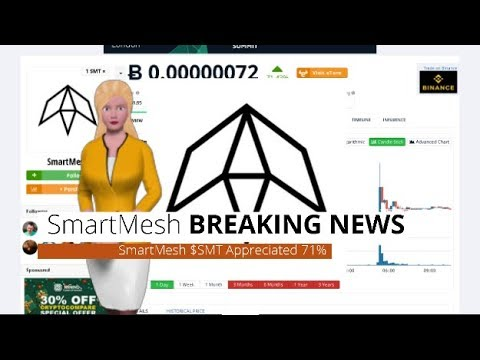SmartMesh $SMT Rose 71% During the Last 24 Hours 2