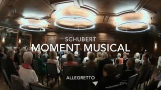 Schubert: Moment Musical für Klarinettenquartett